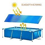 Yuelie - Cubiertas solares para piscinas, para piscinas, exteriores, fácil de...