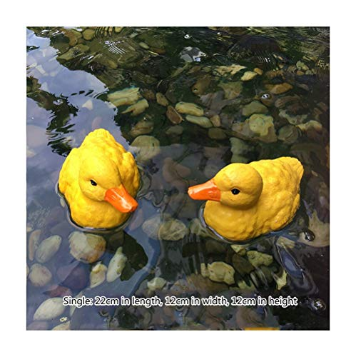 HQQ Canard Emu Swan Garden Fish Tank Waterscape étang Décoration Flottant (Color : BIG Duck)