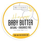 Happy Body Butter - For Mama & Baby - All Natural & Vegan - Fragrance-Free -...