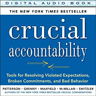 Crucial Accountability audiobook cover art