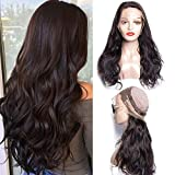 Hair Body Wave 360 ​​Lace Frontal Pelucas 180% Heavy Density Body Wave...
