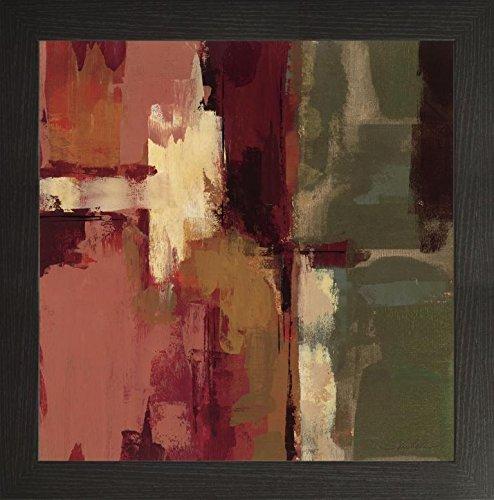 Frame Company Watson Mike Schick Raspberry Fields II Bilderrahmen, 25,4 x 25,4 cm, Schwarz, Holz, weiß, 12 x 12 Inches