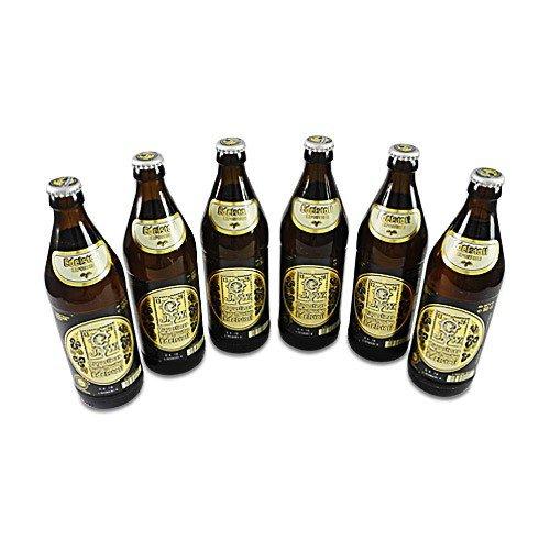 Augustinerbräu - Edelstoff Exportbier (6 Flaschen à 0,5 l / 5,6% vol.)