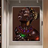 ganlanshu Imagen Mural Moderna de Sala de Estar,Pintura sin Marco,50x75cm