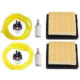 Kizut BP42 Air Filter 900777005 Repower Tune-Up Kit for Ryobi RY08420 RY08420A 42CC Backpack Blower
