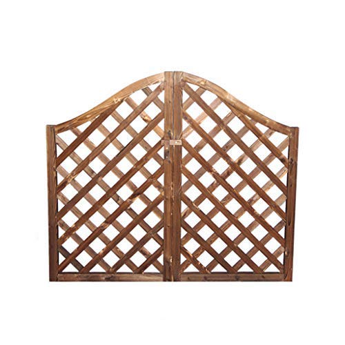 XLOO Wooden Pergola Arbor,Arch with Planters,for Climbing Plants Bridal Party Decoration, Natural (Style 1)