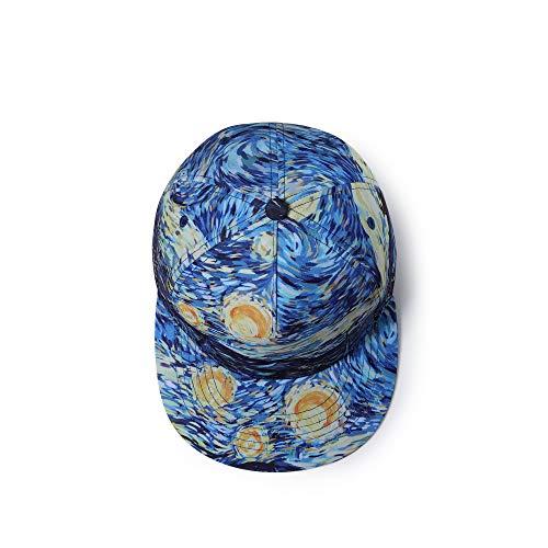 MXBIN Gorra de béisbol de algodón Sombrero de ala Plana Hip-Hop Graffiti...