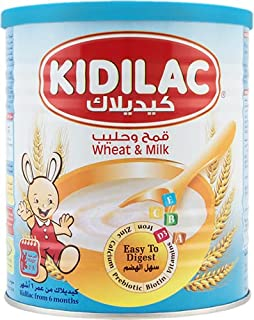 Kidilac Baby Cereal Wheat and Milk 400g