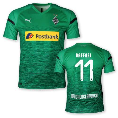 Puma BMG Borussia Mönchengladbach Ausweichtrikot Erwachsene 2018/19, Größe:XL, Spielername:11 Raffael