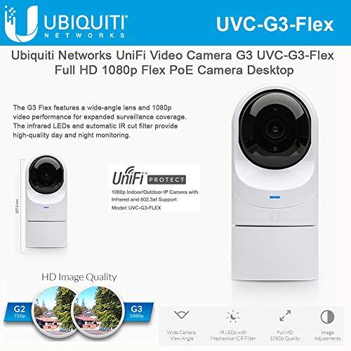 Ubiquiti UniFi Video Camera G3 Flex UVC-G3-Flex Full HD 1080p Network Camera with Night Vision