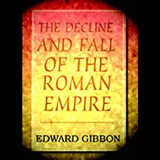 The Decline and Fall of the Roman Empire audiobook cover art