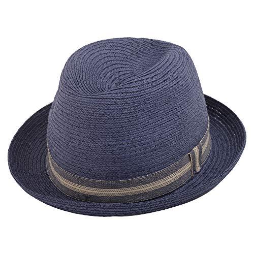 Woolrich Herren Woacc1517ac163731 Blau Jute Hut