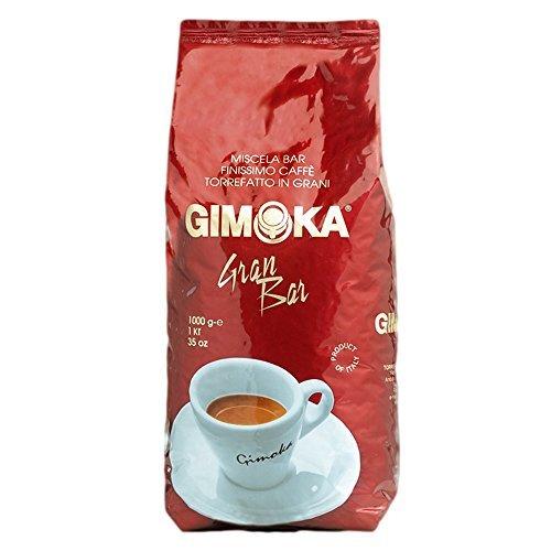 Gimoka Gran Bar Kaffee Ganze Bohnen 4x 1000g - Typisch italienisch!