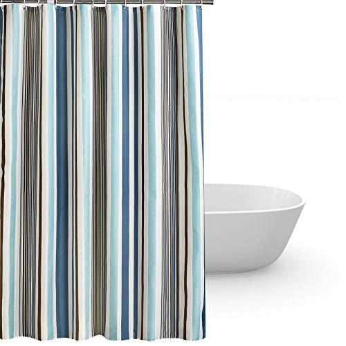 Duschvorhang anti-schimmel 200x220,Bad vorhänge wasserdicht Dusch Vorhang anti-Bakteriell waschbar mit 12 ring für Badezimmer