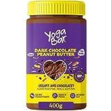 Dark Chocolate Peanut Butter, Creamy & Chocolatey, Slow Roasted, Non-GMO Premium Peanuts, 400gm