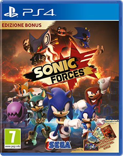 Sonic Forces Bonus Edition PS4 Playstation 4 Game