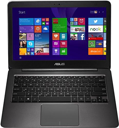 Asus Zenbook UX305FA-FC005T 33,8 cm (13,3 Zoll FHD) Laptop (Intel Core m 5Y10, 8GB RAM, 256GB SSD, HD Graphic, Win 10 Home) schwarz