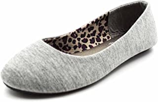 Simply Petals Girl's Slip On Jersey Ballet Flats