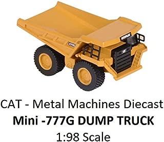 Caterpillar ( CAT) - 777G Metal Machines - Dump Truck - 1:98 Scale