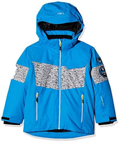CMP Jungen Skijacke Jacke, Blau (Cyano), 176