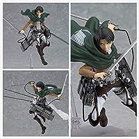 タイタンエレン三笠アッカーマンリーバイス/Rivaille フィグマ Pvc アクションフィギュア模型玩具