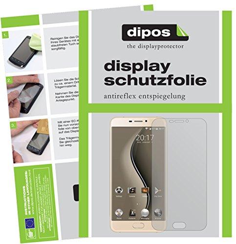 dipos I 2X Schutzfolie matt kompatibel mit Ulefone Gemini Folie Bildschirmschutzfolie