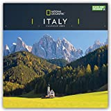 National Geographic Italy - Italien 2022 - 12-Monatskalender: Original Carousel-Kalender [Mehrsprachig] [Kalender]