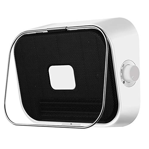 HYJBGGH Calentador De Espacio Baño, Portátil Calentador De Ventilador con Ahorro De Energía E Impermeable, Calentamiento Rápido, Ajuste De Temperatura 3 (Color : Black, Size : 220V)