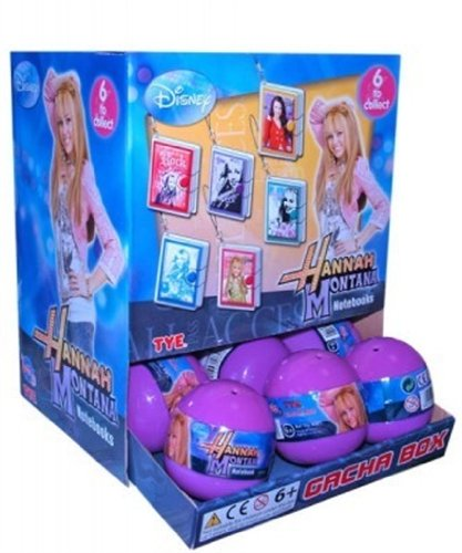 TM974 - Tomy - Disney Hannah Montana Notizbücher m.Anhänger [8081]