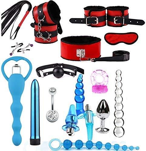 Un Kit Sportivo combinato Rosso e BLU è Pronto per l'uso. A02