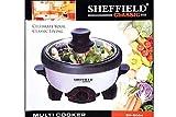 Kumaka Sheffield Classic 3-in-1 SH-5004 Aluminum Multi-Cooker 2.2 L (Boil, Grill, Fry) 900