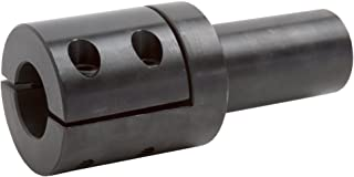 Climax Part SDA-100 Mild Steel, Black Oxide Plating Step Down Adapter, 1 inch bore, 3/4 inch OD, 2 inch Length, 1/4-28 x 5/8 Set Screw