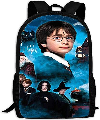Harry Potter, zaino per la scuola per bambini, 3D, motivo anime, leggero, adatto e grande capacità (Harry6,16 (scuola elementare)