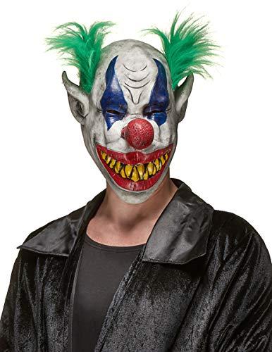 Generique - Clownsmaske aus Latex mit scheußlicher Fratze