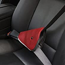 ewinever(R) Safe Fit Thickening Car Safety Belt Adjust Device Baby Child Safety Belt Protector Seat Belt Positioner