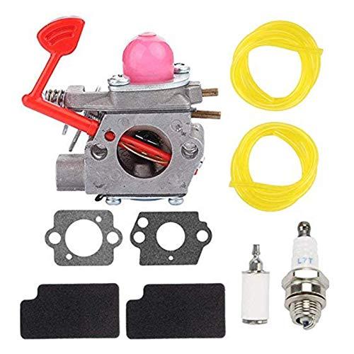 KK LTD Carburador 125cc WT-875 Carburador para Artesano 358794650 25cc 210mph / 450 358794600 25cc 200 mph / 430 cfm soplador de Gas Poulan IR a Kart carburador