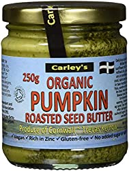 Made from roasted pumpkinseeds with a little sunflower oil Good source of the minerals zinc, phosphorus, magnesium, manganese, copper and iron A carefully blended mix of mineral rich pumpkin seeds Simple, savoury, healthy and delicious Great to make ...