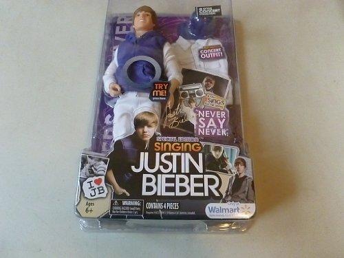 Bravado Justin Bieber Special Edition Singing Doll Never Say Never