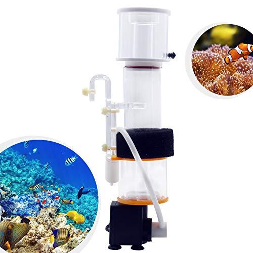 Hanchen プロテインスキマー 水槽スキマー 水槽用フィルター ミニスキマーミニフィルター 小型 水質改善 熱帯魚・観賞魚 一体式 タンパク質・廃棄物分離 汚れ除去 (SQ-50)