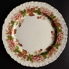 Wildbriar Brown Pink Dinner Plate by Wedgwood | Replacements, Ltd.