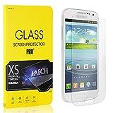 LAFCH Panzerglas Schutzfolie Kompatibel mit Galaxy S4 Mini, 4 Stück Ultra Klar Abdeckung Gehärtetem Glas Displayschutzfolie für Samsung Galaxy S4 Mini, Anti-Kratzer, Blasenfreie