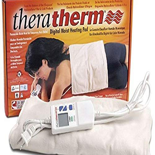 """Chattanooga TheraTherm Digital Electric Moist Heating Pads, Large, 14"""" x 27"""""""