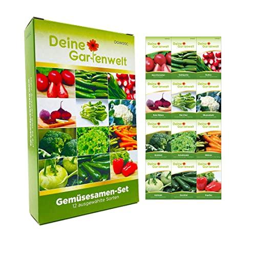 Deine Gartenwelt -  Gemüsesortiment |