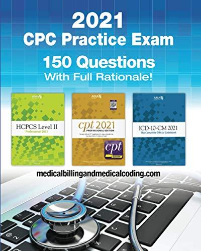 CPC Practice Exam 2021: Includes 15…