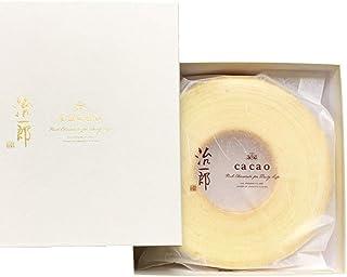 治一郎とcacaoのバウムクーヘン ホワイトチョコレート [期間限定] [コラボ]