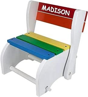babykidsbargains Personalized Classic Step Stool Chair
