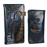 Nemesis Now Pennello con Magick Lisa Parker Goffrato, 19 cm, Blu, PU, Taglia Unica