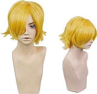 耐熱コスプレウィッグ 二番目の城 マルコス'55 ウィッグ パーティー 仮装 wig +おまけ2点