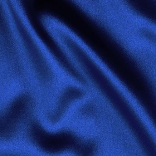 Telio Tahari Stretch Satin Royal Blue, Fabric by the Yard