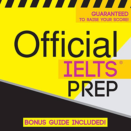 Official IELTS Prep audiobook cover art